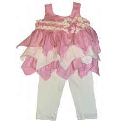 Isobella & Choe Cotton Candy Dress w/Leggings