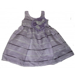 Isobella & Choe Violet Empire Waist Dress