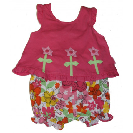 LeTop Daisy Crazy Popover & Bloomers
