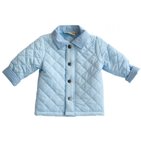 Boutique Collection Light Blue Quilted Jacket