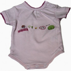 Kushies NB-12 Mo. Playtime Onesie
