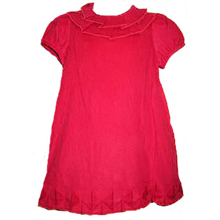 Zuccini 3--24 Mo. Girls Red Corduroy Dress