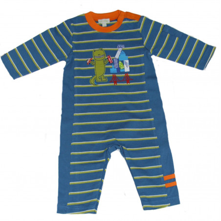 LeTop Baby-boys Dino Teck Guy Coverall