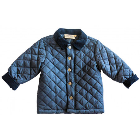 Boutique Collection Navy Quilted Jacket