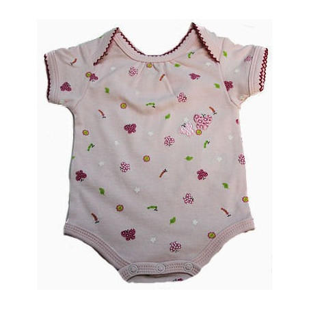 Kushies Butterflies, Dragon Flies & Flowers Onesie