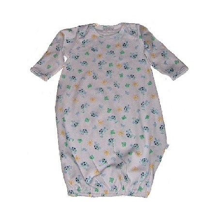 LeTop Newborn Boy Turtle & Friends Gown