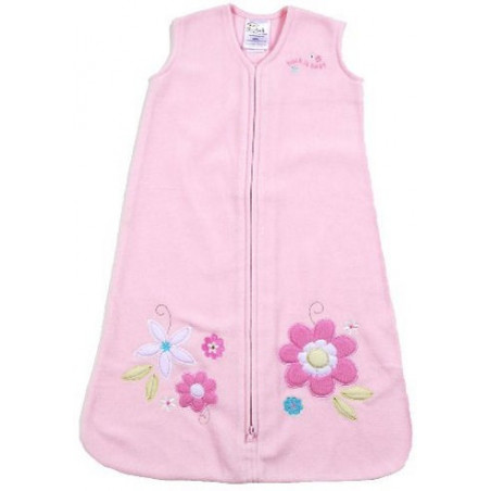 Halo Pink Daisy Applique Infant Sleep Sack