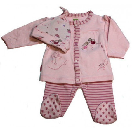 Kushies Nb-6MO Sweet Dreams Little Angels Organic Set